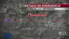 Estado de emergencia en Arlington