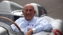 Murió la leyenda de la Fórmula Uno, Sir Stirling Moss