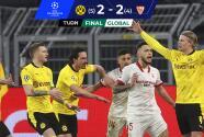 ¡Bestial! Haaland lleva al Borussia Dortmund a Cuartos de Champions League