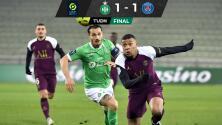 ¡Debut agridulce! Ya con Pochettino, PSG empata ante el Saint-Étienne