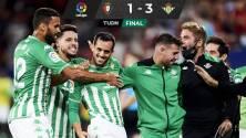 El Betis, con Andrés Guardado todo el partido, superó al Osasuna