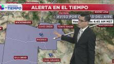 Aviso por mala calidad del aire en varias zonas de Arizona hasta el próximo martes