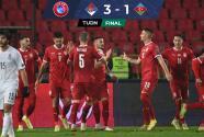 Resumen | Serbia tunde a Azerbaiyán y le pone mucha presión a Portugal