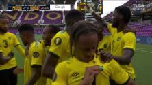 ¡GOL!  anota para Jamaica. Bobby Reid