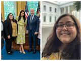 """""""Alguien que es indocumentada entrando a la Casa Blanca"""": maestra dreamer se reúne con el presidente Biden"""