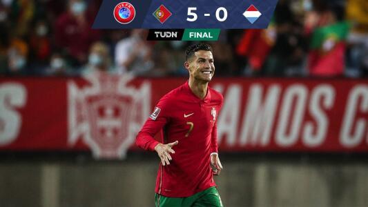 Resumen   Con 'hat-trick' de CR7, Portugal golea a Luxemburgo