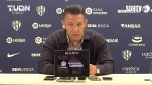 Nacho Ambriz es presentado oficialmente con el Huesca de España
