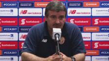 Oscar Ramírez, no sabe que esperar de El Salvador en el inicio de la Copa Centroamericana