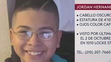 Familia pide ayuda para encontrar a menor de 12 años desaparecido