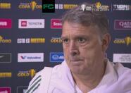 """Martino sobre Jona dos Santos: """"Lo acompañamos en un momento tan difícil"""""""
