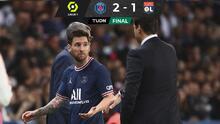 Messi se enoja y no le da la mano a Pochettino tras salir
