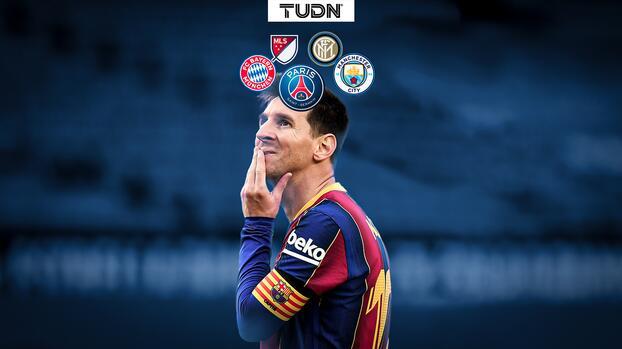 Leo Messi y las opciones que tiene para seguir su carrera