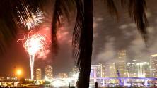 Con mucha comida y juegos, cientos de personas disfrutaron de la celebración del 4 de julio en el centro de Miami