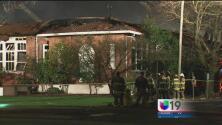 Se incendia edificio que ofrecía servicios a la ciudad