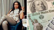 De desempleada a millonaria y ahora autora con el cheque de estímulo económico