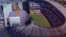 """""""Qué amargado"""": Cuestionan al ganador del palco en el Estadio Azteca porque no lo quiere usar"""