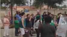 Realizan una marcha por los inmigrantes en honor a César Chávez en Coachella