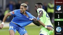 Hoffenheim 1 – 1 Schalke – Goles y Resumen completo