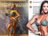Vanessa Guzmán está imparable: con sus músculos gana otra medalla en su debut profesional en fisicoculturismo