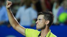 Dominic Thiem se ilusiona con ganar por segunda vez el Abierto Mexicano de Tenis