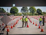 Guardia Nacional ayuda a operar unidades móviles para fomentar la vacunación en Delaware