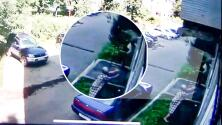 (VIDEO) Mujer de 64 años salva a bebé que se cayó de una ventana