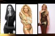 Así se ha transformado Shakira en el tiempo
