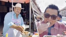 Raúl Brindis visitó las famosas Carnitas de Carmelo en Michoacán: Se te hará 'agua la boca' al ver el video