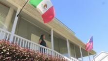 Familia recibe amenazas tras colocar una bandera de México afuera de su casa en Carolina del Norte