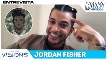 Jordan Fisher revela por qué su personaje de Star Wars: Vision es tan parecido a él