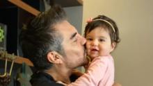 Las fotos más tiernas de Adrián Uribe y su hija Emily ¡Mira cómo ha crecido!