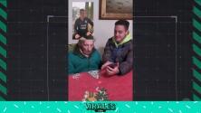 Conmovedor video con mensaje de Messi a un fan de 100 años