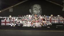 Sin racismo presente... restauran  mural de Marcus Rashford