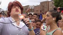 Doña Meche no se esperaba que una mujer (que no era Mela la Melaza) le hiciera la competencia a su poesía