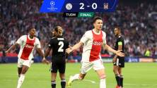 ¡Pudo ser goleada de escándalo! Ajax vence 2-0 sin problemas al Besiktas