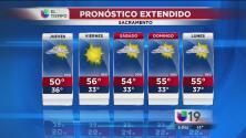 Sacramento tendrá lluvia y frío este jueves