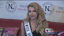 Miss Honduras lucha contra la violencia doméstica