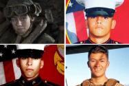 Confirman identidades de cuatro soldados de California que fallecieron en Afganistán