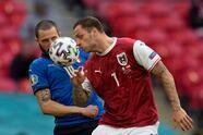 Federico Chiesa y Matteo Pessina marcan en los tiepos extras y le dan el triunfi 2-1 a Italia tras un apretado duelo frente a Austria. Los italianos esperan al ganador entre Bélgica y Portugal.