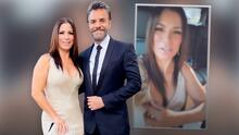 """""""Con el brasier de fuera"""", Alessandra Rosaldo sufre un desliz con su elegante 'look' junto a Eugenio Derbez"""