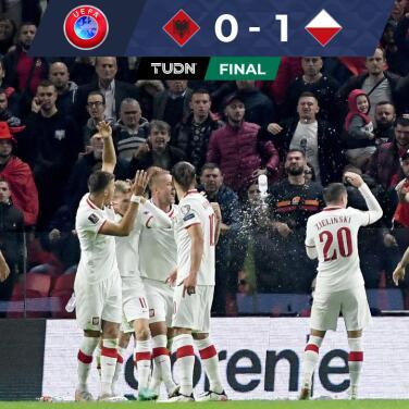 Resumen   Lewandowski y Polonia ganan a Albania y sueñan con Qatar 2022