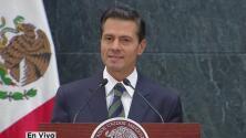 """Enrique Peña Nieto sobre Donald Trump: """"Mi prioridad es proteger a los mexicanos donde quiera que se encuentren"""""""