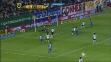 Gol de Wilmer Aguirre para San Luis
