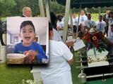"""""""¡Corazón! ¡perdóname!"""": Dan el último adiós al niño de 6 años que murió tras desaparecer en Panama City Beach"""
