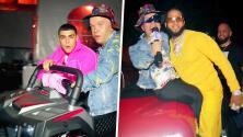 'Carlitos' armó su propia fiesta en PJ y logró subirse al Bugatti de El Alfa (antes de que fuera quemado)