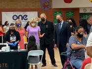 La Primera Dama Jill Biden visita Phoenix para promover la vacunación
