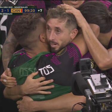 ¡Sí, Zizinho, el gol es para ti! Herrera logra el angustioso 2-1 al 99'