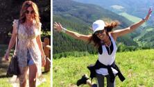 Así de bien se la pasa Karla Martínez en sus vacaciones por las montañas de Colorado