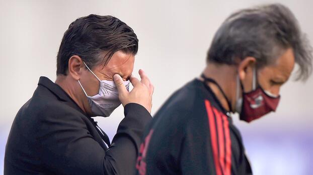 Junior y River Plate disputaron tenso encuentro en Colombia