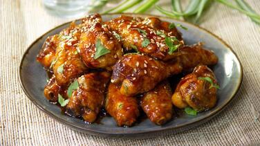 Alitas de pollo al ajo y miel ¡irresistibles!
